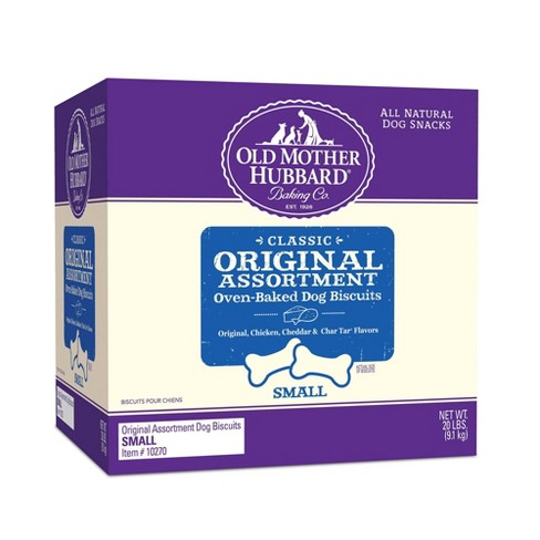 Old Mother Hubbard Classic Crunchy Original Assortment Biscuits Small Oven Baked Dog Treats - image 1 of 3