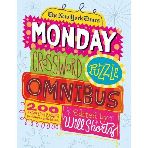 The New York Times Monday Crossword Puzzle Omnibus - (Paperback) - image 1 of 1