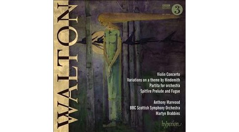 Anthony Marwood - Walton:Violin Concerto/Variations On (CD) - image 1 of 1