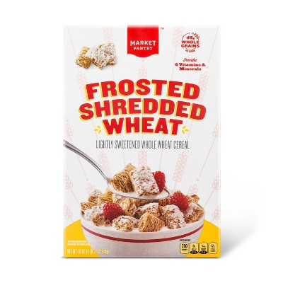 Frosted Shredded Wheat Breakfast Cereal - 18oz - Market Pantry™