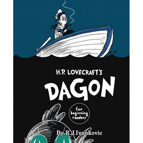 H.P. Lovecraft's Dagon for Beginning Readers - (Hardcover) - image 1 of 1