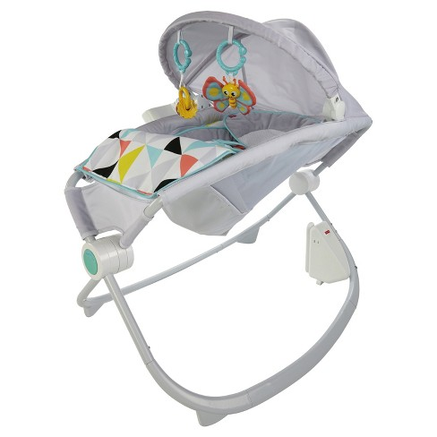 Fisher-Price Premium Auto Rock 'n Play Sleeper with SmartConnect - Windmill - image 1 of 20