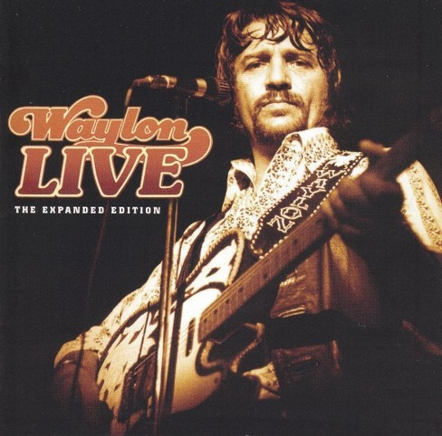 Waylon jennings - Waylon live (CD) - image 1 of 2