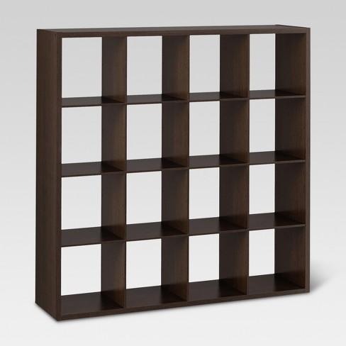 "16-Cube Organizer Shelf 13"" - Threshold™ - image 1 of 2"