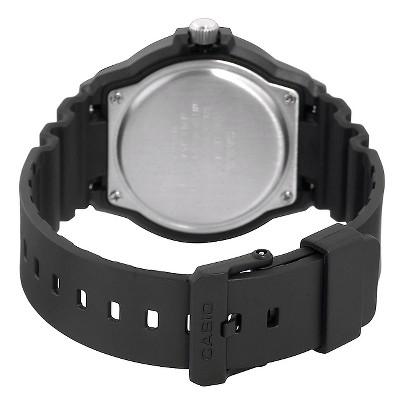 Men's Casio Dive Watch - Black (MRW200H-1BVCF), Size: Small