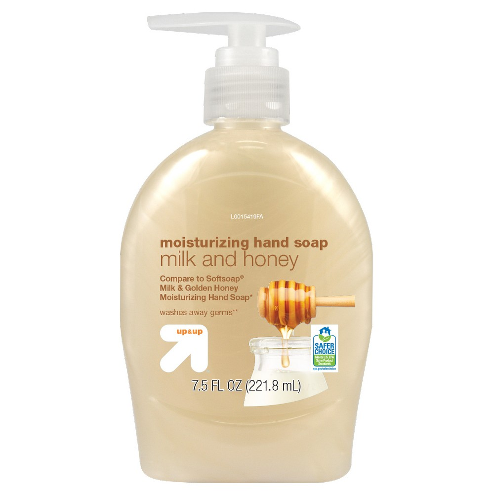 Image of Milk and Honey Hand Soap - 7.5oz - Up&Up