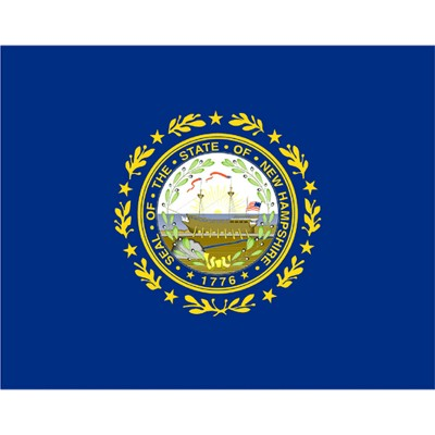 New Hampshire State Flag - 4' x 6'