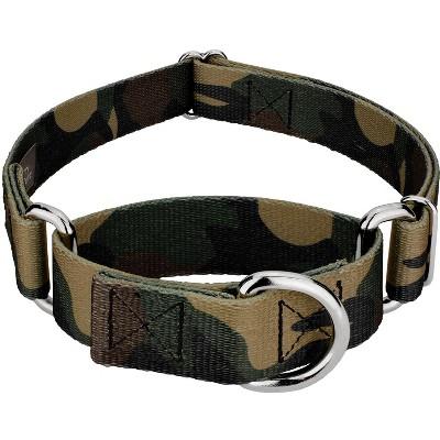 Country Brook Petz™ Woodland Camo Martingale Dog Collar