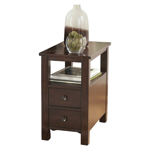 Marion Chair Side End Table Dark Brown - Signature Design by Ashley - image 1 of 3