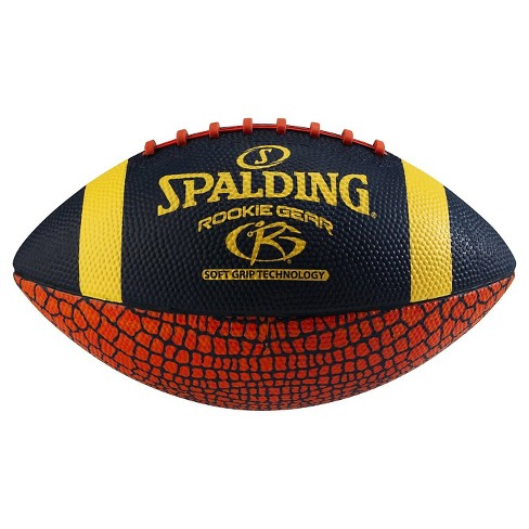 Spalding Rookie Gear Soft Grip Jr. Size Football - Red/Blue Armadillo - image 1 of 1