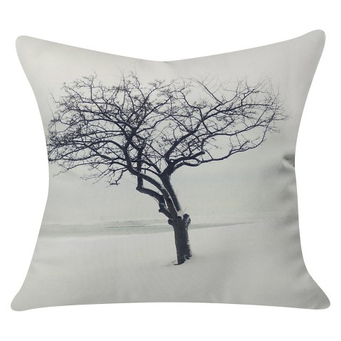 "Gray The Scientist Throw Pillow (20""x20"") - Deny Designs® - image 1 of 2"