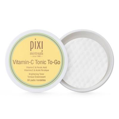 Pixi Vitamin-C Tonic To-Go Facial Treatments - 60ct
