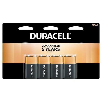 Duracell 9V - 4ct