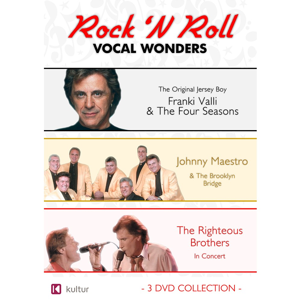 Rock N Roll Vocal Wonders: Frankie Valli / Johnny Maestro / Righteous Brothers (DVD)