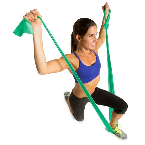 GoFit® Flat Power Resistance Bands 3pk With Manual - 5lb f46e4f650c