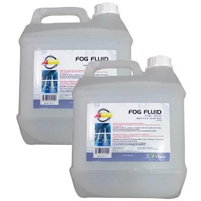 (2)NEW AMERICAN DJ F4L ECO-FOG 4 Liter Bottles of Fog/Smoke Machine Liquid Juice