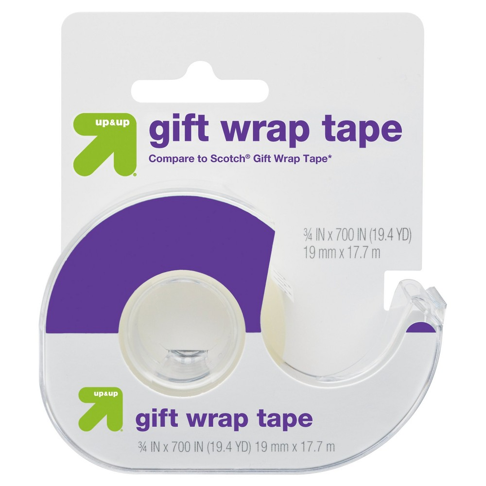 Gift Wrap Tape (Compare to Scotch Gift Wrap Tape) - Up&Up, Clear