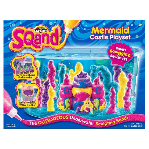 Cra-Z-Art Sqand Mermaid Castle Playset - image 1 of 2
