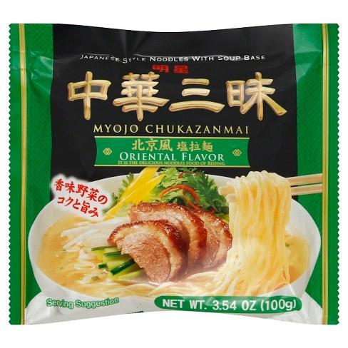 Kikkoman Myojo Chukazanmai Oriental Flavor Ramen - 3.54oz - image 1 of 1