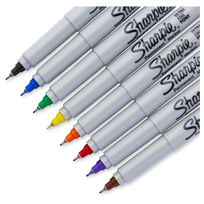 Sharpie 10pk Permanent Marker Multicolor