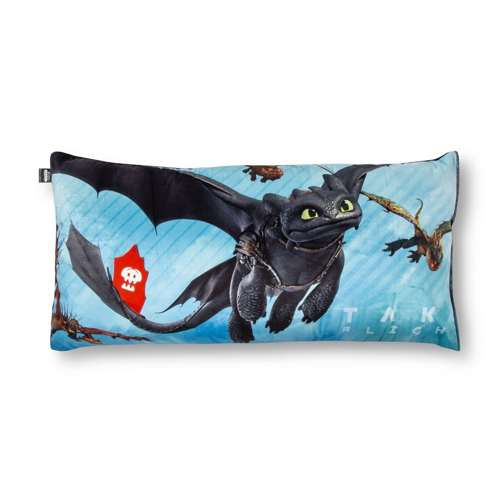 Image of How to Train your Dragon 3 Sky Grew Dark Body Pillow