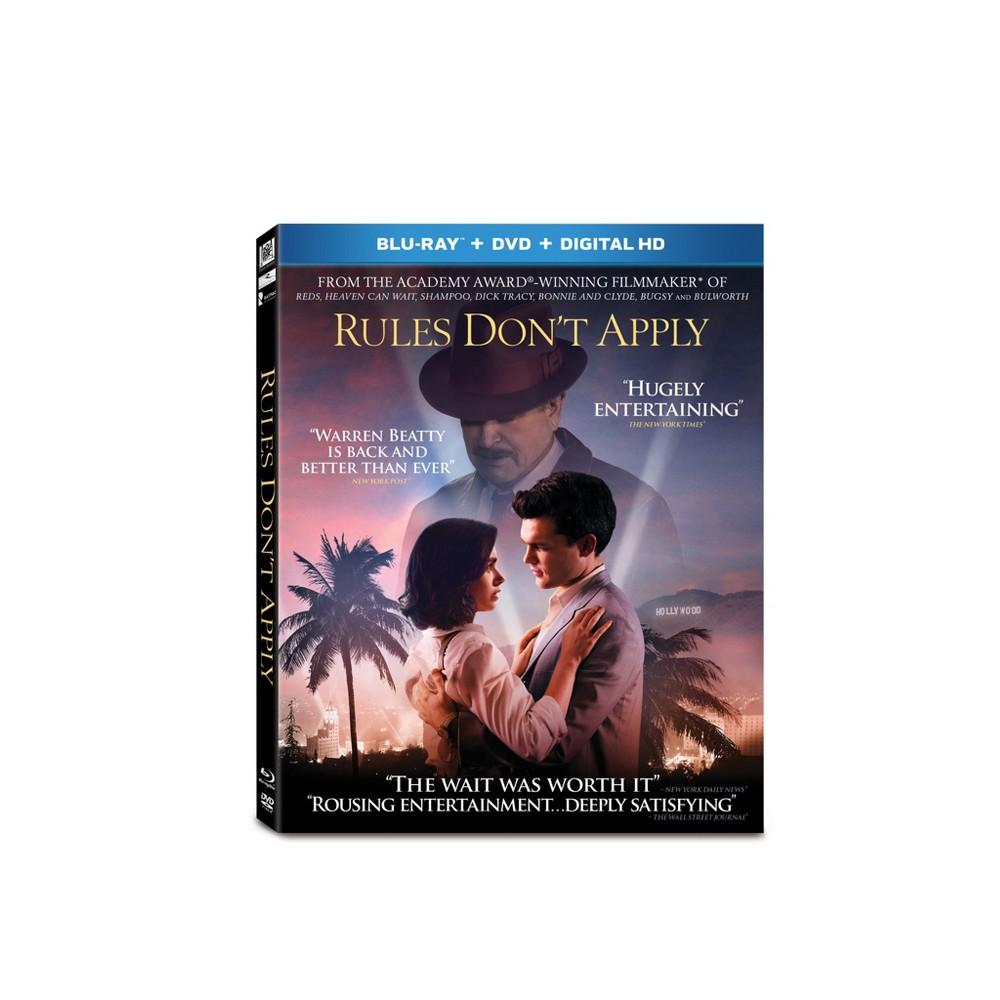 Rules Don't Apply (Blu-ray + Dvd + Digital)