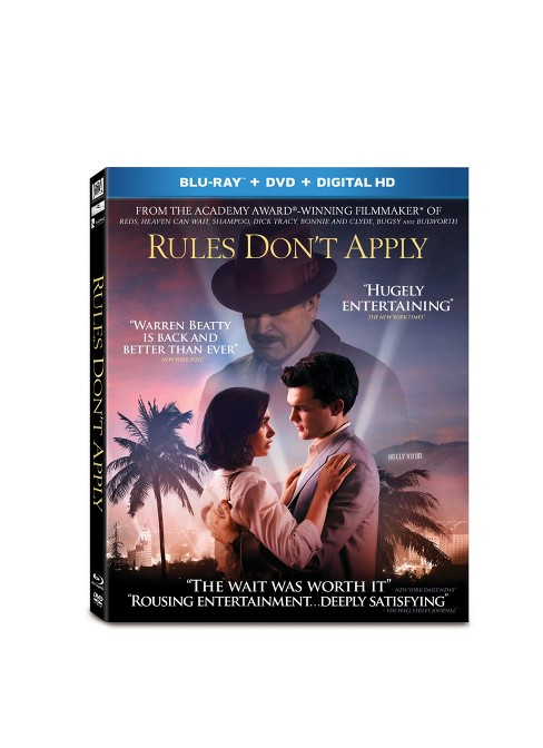 Rules Don't Apply (Blu-ray + DVD + Digital) - image 1 of 1