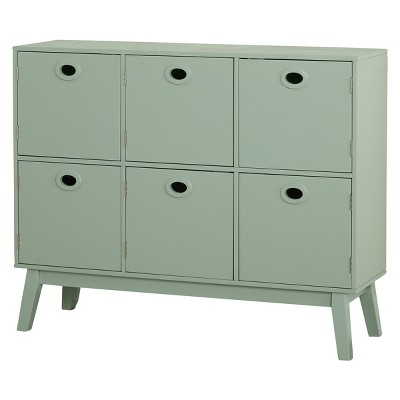 Six Storage Cabinet - Mint - Buylateral