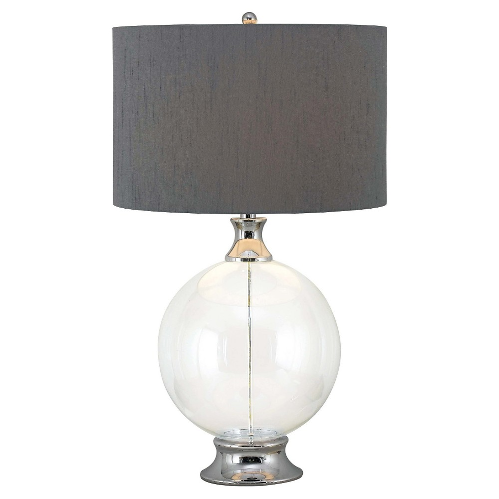 Kenroy Home Table Lamp - Chrome (Grey) (Lamp Only)