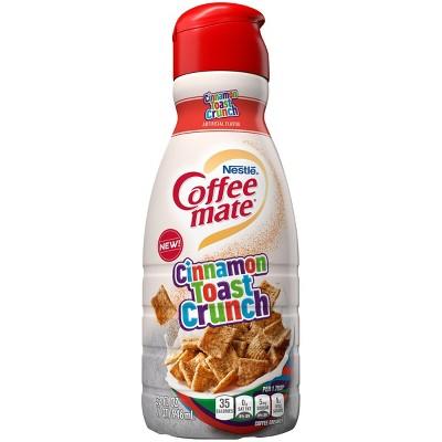 Coffee Mate Cinnamon Toast Crunch Coffee Creamer - 32 fl oz