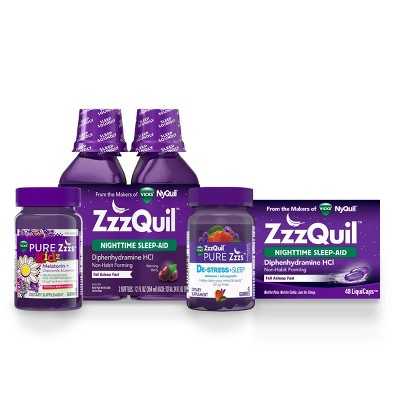 ZzzQuil Sleep Collection