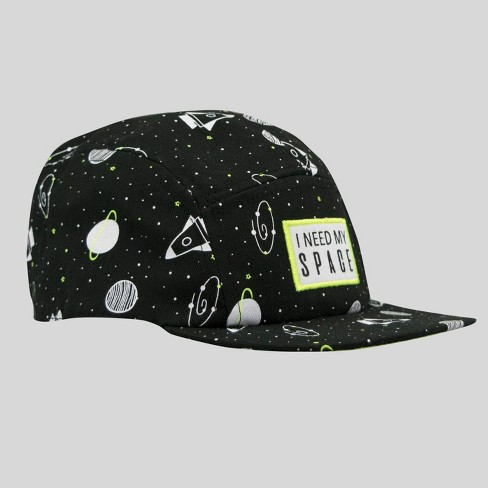 1a5e792346634 Toddler Boys  Space Print Baseball Cap - Cat   Jack™ Black 2T-5T   Target