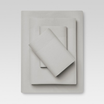 Vintage Wash Sheet Set (King)Gray - Threshold™