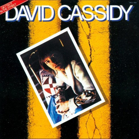 David cassidy - Getting it in the street (CD) - image 1 of 1