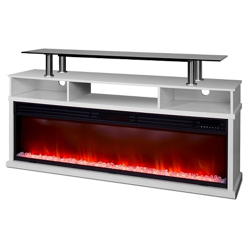 Lifesmart Uptown Series 60 Media Console Fireplace W Northern