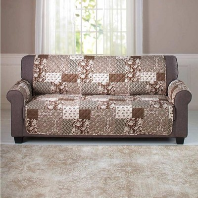 Lakeside Sofa Slipcover with Quilted Pattern with Reversible Side