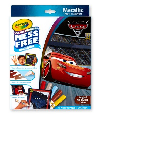 Crayola Color Wonder Metallic Coloring Kit - Cars 3 - image 1 of 4