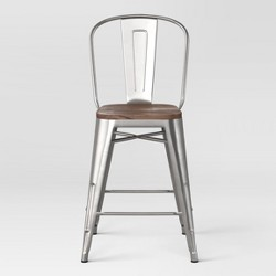 Carlisle Counter Stool with Wood Seat - Threshold™