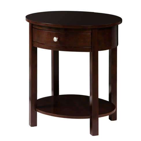Classic Accents Cypress End Table Espresso - Johar - image 1 of 4