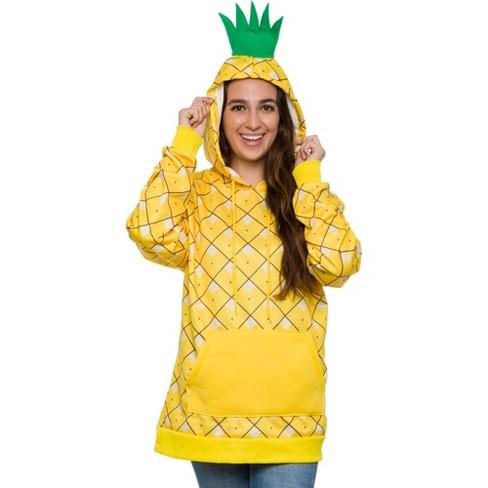 Funziez! Pineapple Women's Hooded Sweatshirt - image 1 of 4
