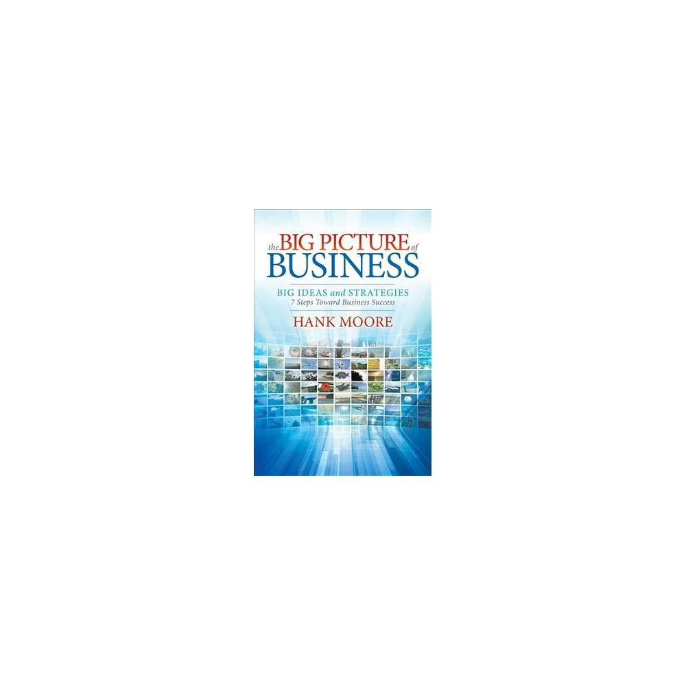 Big Picture of Business : Big Ideas and Strategies: 7 Steps Toward Business Success - (Hardcover)