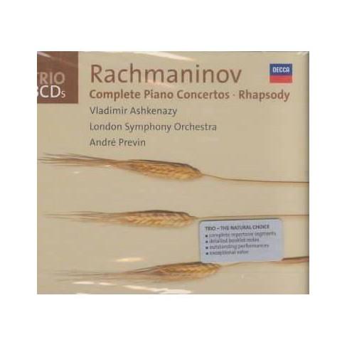Bautista - Rachmaninov: Complete Piano Concertos; Rhapsody (CD) - image 1 of 1