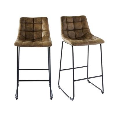 2pc Richmond Metal Barstool Set - Picket House Furnishings
