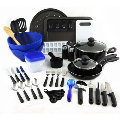 Gibson Total Kitchen 59 Piece Combo Set