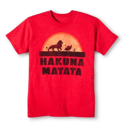 Men's Hakuna Matata® T-Shirt - Red M