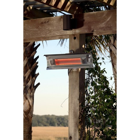 fire sense stainless steel wall mounted infrared patio heater target - Infrared Patio Heater