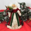 """Tree Topper Finial 12.0"""" Angel With Cardinal Tree Topper Bird Nest Heavenly  -  Tree Toppers - image 3 of 3"""