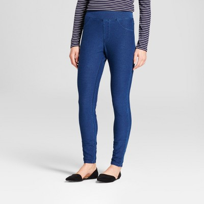 Women's High Waist Jeggings - A New Day™ Blue