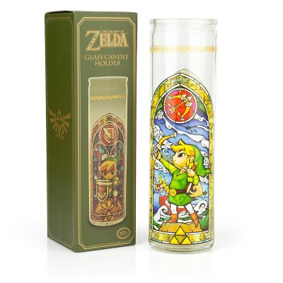 Paladone Products Ltd. The Legend of Zelda Glass Candle Holder | Exclusive Legend Of Zelda Collectible