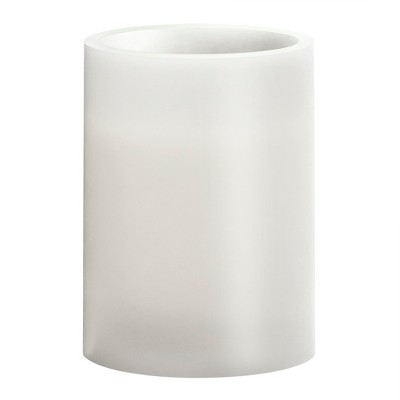 3  x 4  Vanilla Scented LED Pillar Candle White - Made By Design™